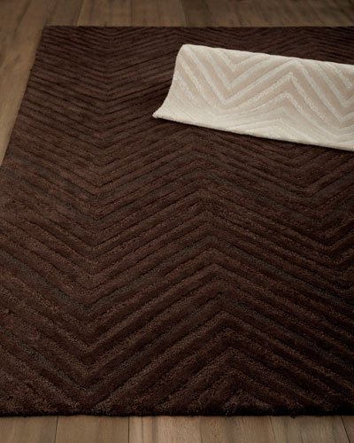 "Joseph Abboud ""Dimension Chevron"" Rug"