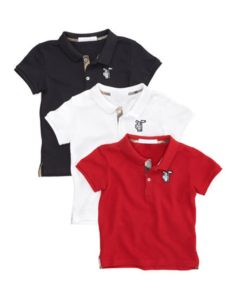 Short-Sleeve Polo