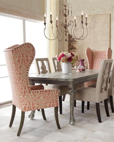 Haute House Benjamin Linen Chair