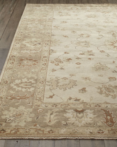 """Sandy Vines"" Oushak Rug"