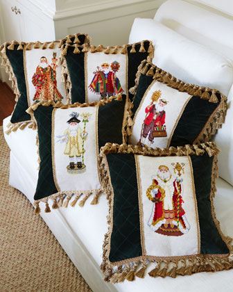 Santa Claus Pillows