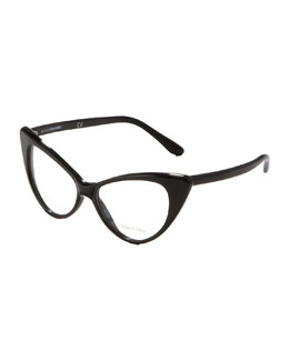 Tom Ford Cat-Eye Fashion Glasses