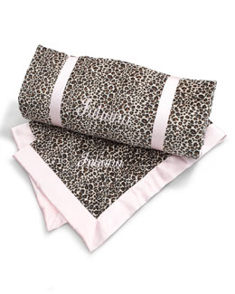 Swankie Blankie Cheetah-Print Nap Collection