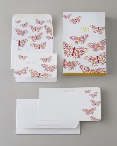 "Atticus Paper ""Butterfly"" Collection Stationery"