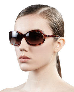 Tom Ford Vivienne Rounded Sunglasses