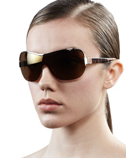 Tory Burch Shield Sunglasses