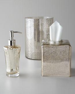 """Vizcaya"" Glass Vanity Accessories"
