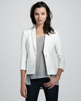 Elizabeth and James Hazel Embellished Blazer & Kal Tee