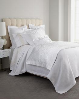 "SFERRA ""White Jacquard"" Bed Linens"