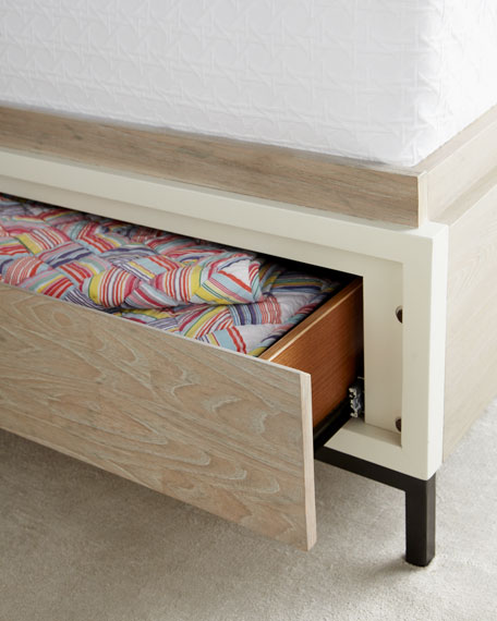 Shana King Storage Bed