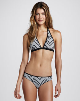 Commando Reversible Triangle Halter Bikini Two-Piece