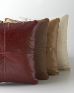 Massoud Leather Pillows