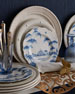 Delft-Blue Country Estate Dinnerware