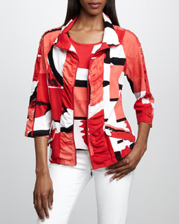 Berek Graphic-Print Jacket & Shell