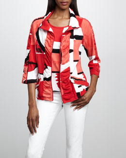 Berek Graphic-Print Jacket & Shell, Women's