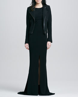 Rachel Zoe Adrianna II Mermaid Maxi Dress & Freda Jacket