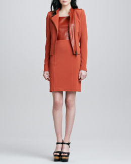Rachel Zoe Scarlet Sheath Dress & Freda Jacket