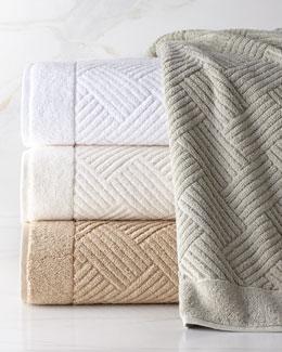 SFERRA Jacquard Towels