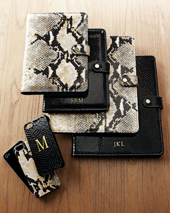 Python-Embossed iPhone 5/5s & iPad Cases