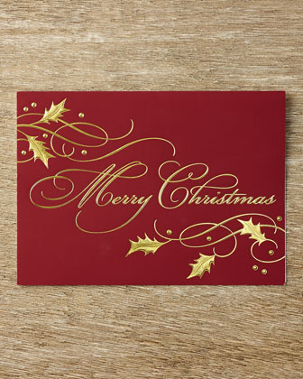 Christmas Tidings Holiday Cards