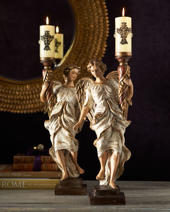 Angel Candleholders