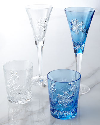 Snowflake Wishes Glassware