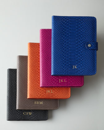 Python-Embossed iPad Mini Case