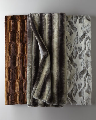 Faux-Fur Coverlets