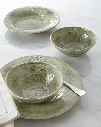 Green Crest Dinnerware