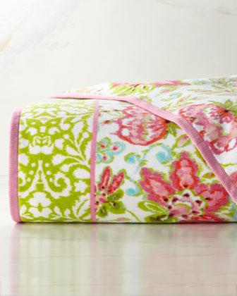 Dena Floral Ikat Towels