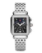 Deco Diamond Watch Head & 7-Link Bracelet Strap