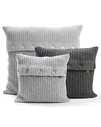 Shaker-Stitch Pillows