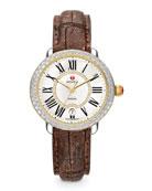 Serein Two-Tone Diamond Watch Head & 16mm Strap