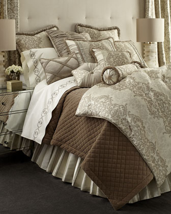Elite Quilted Velvet Bedding