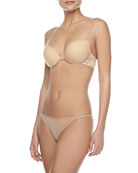 Never Say Never Soire Beauty Push-Up Bra & New Soire Low-Rise Italian Thong
