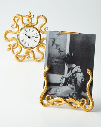 Snake Photo Frame & Desk Clock