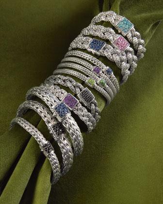 Classic Chain Sapphire Bracelet, Large