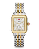Deco 16 Two-Tone 18-Diamond Watch Head & Bracelet