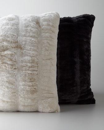 Faux Fur Accent Pillows