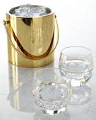 Elysian Ice Bucket & Rocks Glasses