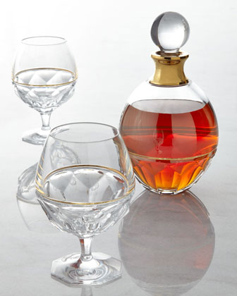 Elysian Brandy Glasses and Decanter