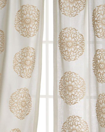 Windsor Medallion Curtains