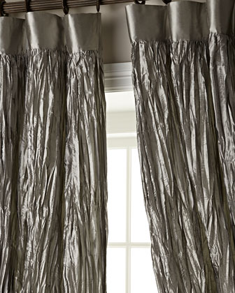 Crushed Silk Dupioni Curtains