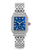Deco 126-Diamond Chronograph Watch Head & 16mm Tapered-Diamond Watch Bracelet