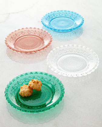 Scroll Canape Plates