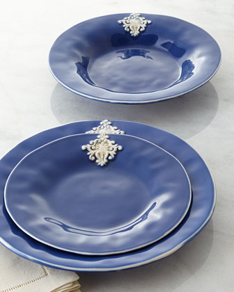 Blue Crest Dinnerware