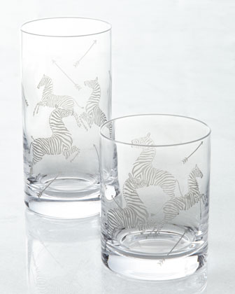 Scalamandre Zebras Drinkware