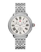 Serein Diamond Watch Head & Diamond Taper 7-Link Bracelet Strap