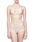 Supporting Role Underwire Bra & Basic Lace Briefs