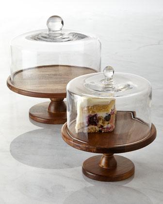 Madera Pedestal Cake Plate